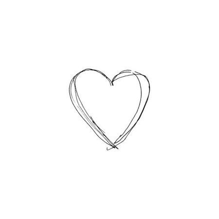 Ink Heart Sketch