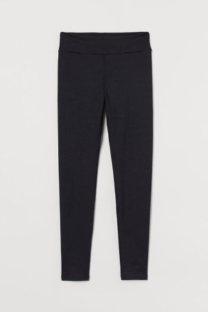 Leggings High Waist - Black