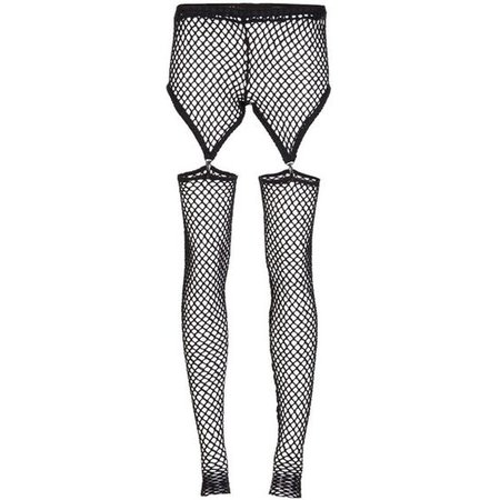 BOHEMIAN SOCIETY mesh garter tights
