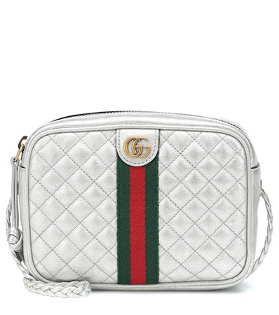 GG quilted leather crossbody bag