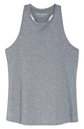 Outdoor Voices Ready Set Longline Tank | grey