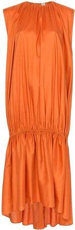 Pretoria sleeveless gathered dress