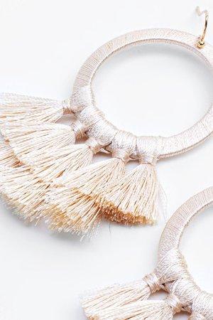 Ross Layered Tassel Earrings | francesca's