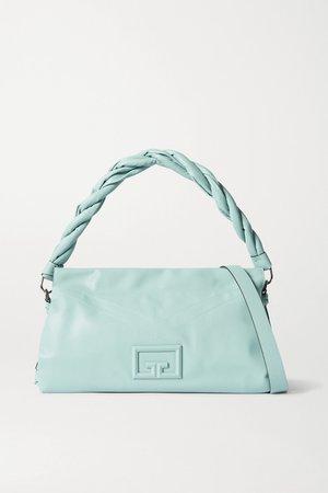 Blue ID93 leather shoulder bag | Givenchy | NET-A-PORTER