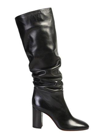Santoni Black Boots