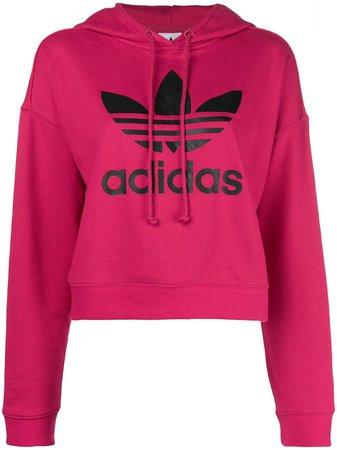 Adidas Moletom Com Estampa De Logo - Farfetch