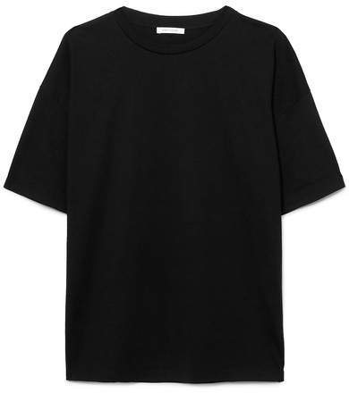 Ninety Percent - Faye Oversized Organic Cotton-jersey T-shirt - Black