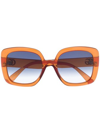 Gucci Injection square-frame Sunglasses - Farfetch