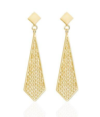 gold earrings – Google Sök