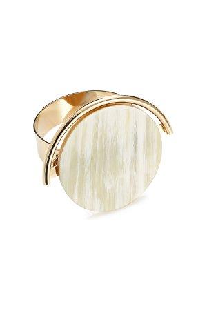 Metal Bracelet with Horn Detail Gr. M