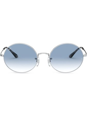 Ray-Ban round-frame Gradient Sunglasses - Farfetch