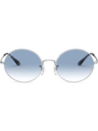 Ray-Ban round-frame Gradient Sunglasses - Farfetch