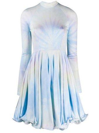 Stella McCartney tie-dye Lettuce Hem Dress - Farfetch