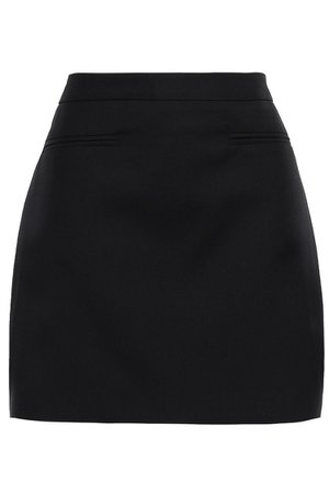 Black Jesse twill mini skirt | Sale up to 70% off | THE OUTNET | ANNA QUAN | THE OUTNET
