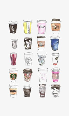 Hand-painted Mugs, Creative Coffee Cup, Starbucks, Cartoon Mug PNG Image and Clipart for Free Download