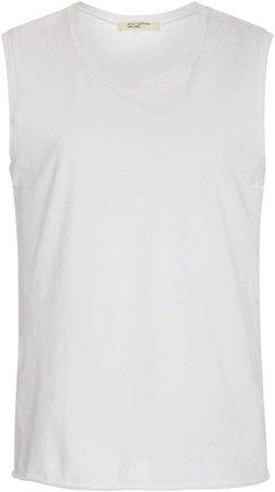 Sleeveless Cotton-Jersey Muscle Tee