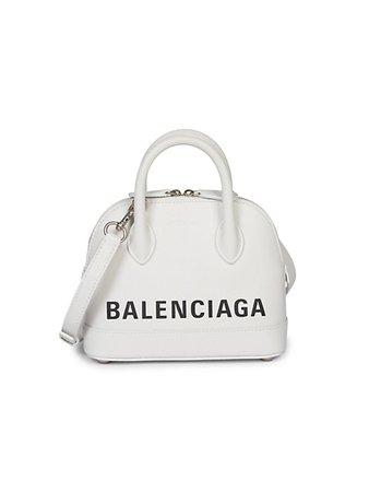 Balenciaga Small Ville Leather Top Handle Bag | SaksFifthAvenue
