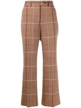 Acne Studios Pantaloni Crop Svasati - Farfetch
