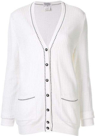 Chanel Pre-Owned V-Neck Cardigan