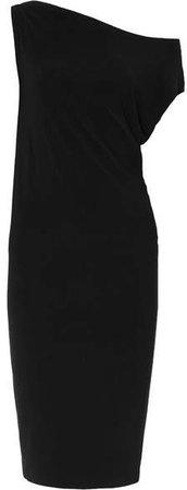 Stretch-jersey Dress - Black