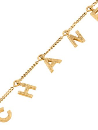 Chanel Pre-Owned 2013 Logo Charm Necklace Vintage | Farfetch.com