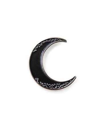 Crescent Moon Pin – Strange Ways