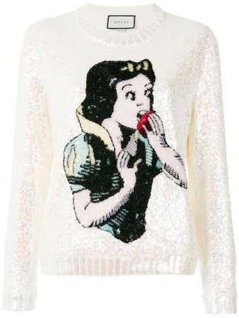 GUCCI Snow White knit sweater