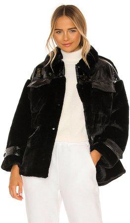 Lucile Faux Fur Jacket
