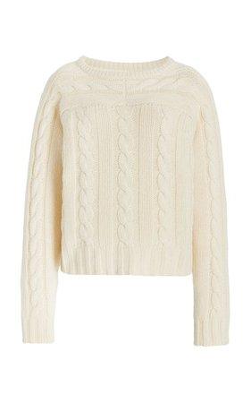 Tracey Cable Knit Cashmere Sweater By Khaite | Moda Operandi