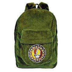 Grateful Dead - Steal Your Face Corduroy Backpack