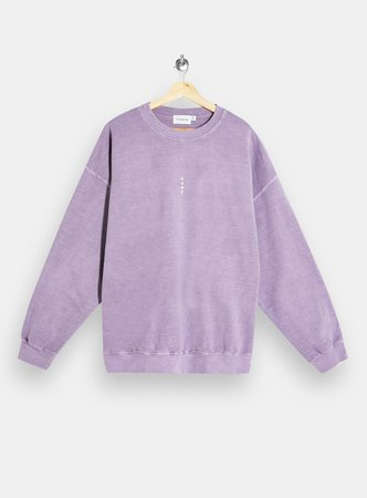 Lilac Vertical Rome Sweatshirt