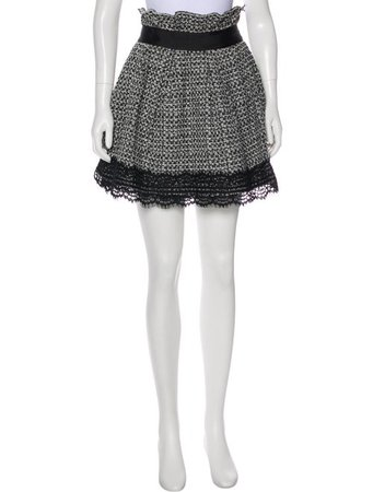 Faith Connexion High-Rise Tweed Skort - Clothing - WFC21789 | The RealReal