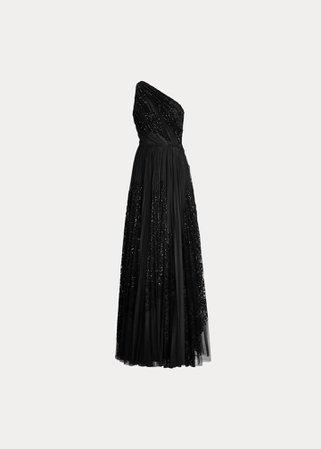 Ralph Lauren, Kelsi Embellished Dress