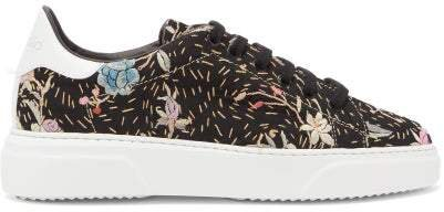 19th-century Tapestry Trainers - Womens - Multi