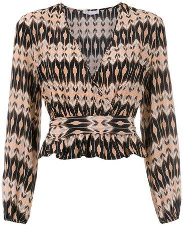Nk printed blouse