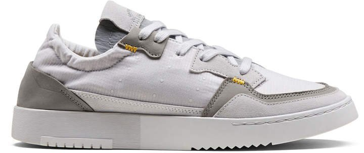 X Bed Jw Ford x Bed JW Ford Super Court Leather Low-Top Sneakers