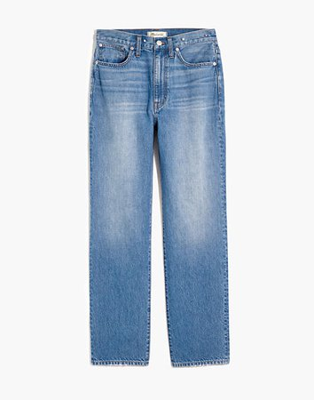 The Perfect Vintage Straight Jean in Moultrie Wash