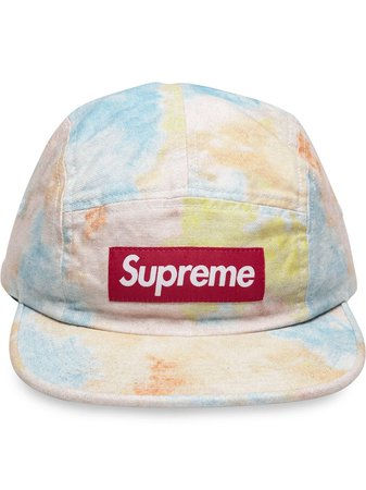 Supreme Multicolor Denim Camp Cap - Farfetch