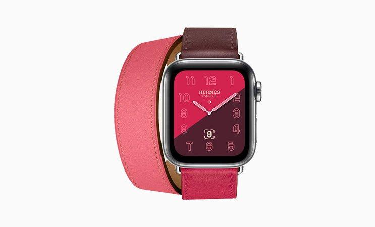 Часы Apple Watch Hermès Series 4: фото и характеристики модели   VOGUE
