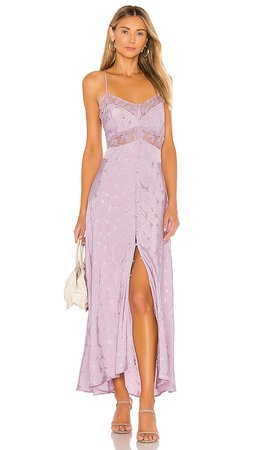 ASTR the Label Dream Catcher Dress in Lilac   REVOLVE