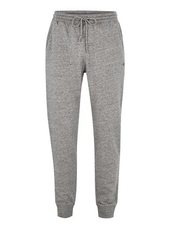 CHAMPION Grey Logo Joggers - Men's Trousers - Clothing - TOPMAN