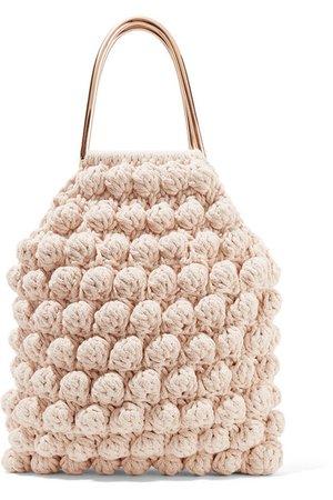 Barranco crocheted cotton tote