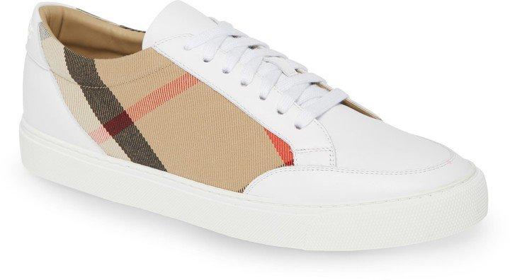 Salmond Check Low Top Sneaker