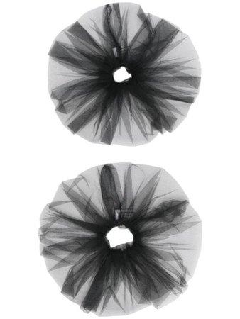 Atu Body Couture tulle scrunchie black ATS21070 - Farfetch