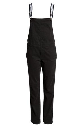 Dickies Logo Strap Twill Overalls
