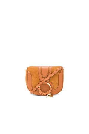 Hana Mini Suede & Leather Crossbody