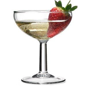 Ballon Champagne Saucers 4.6oz / 130ml | Arcoroc Glassware Champagne Glasses - Buy at Drinkstuff