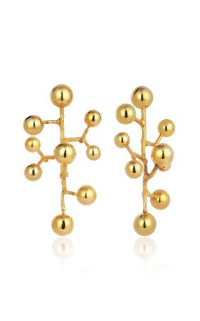 Constellation 18k Yellow Gold Earrings By Evren Kayar | Moda Operandi