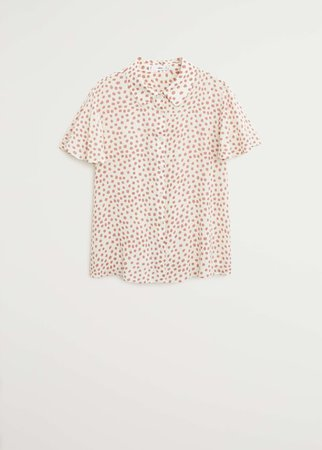 Floral print blouse - Women | Mango USA