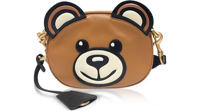 Teddy Bear Head Shoulder Bag Moschino sur FORZIERI